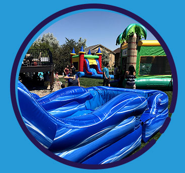 Browse our variety of bounce houses rentals and book yours online today.
