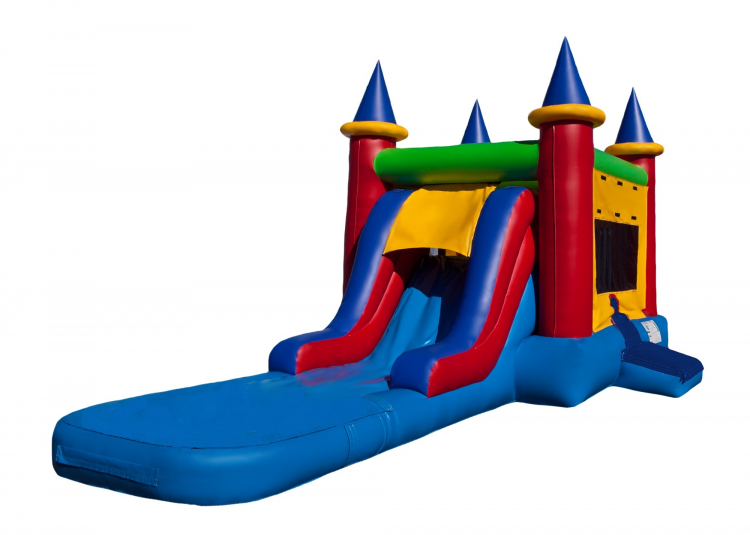 Fort Collins Castle Combo Bounce House