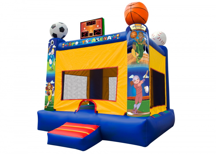 Greeley Sports Arena Bounce House