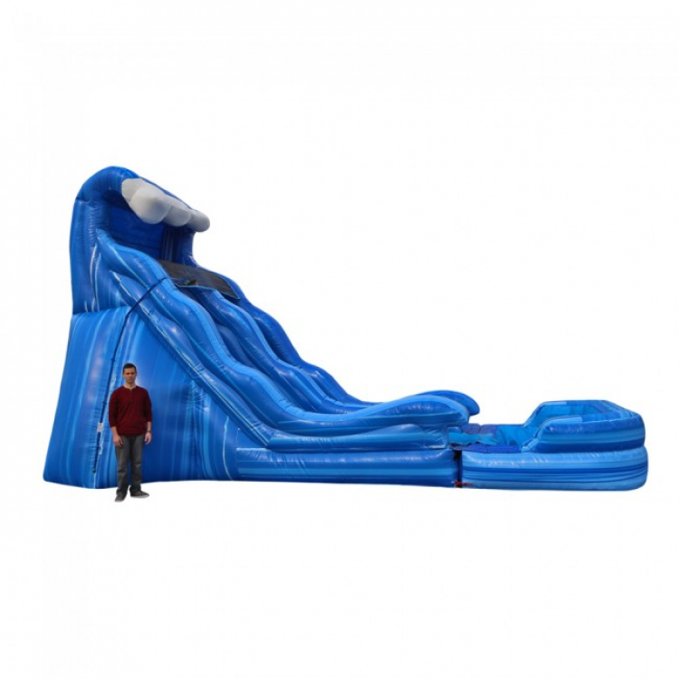 17′ Wave Slide – 27'x15'x17′ – Wet/Dry – $365