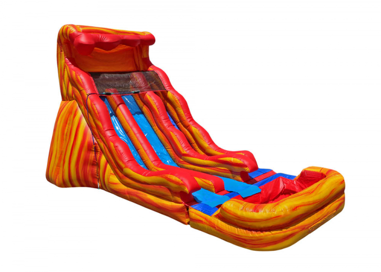 17 Flammin Wave Dual Slide - 27'x17'x17' - ($395)
