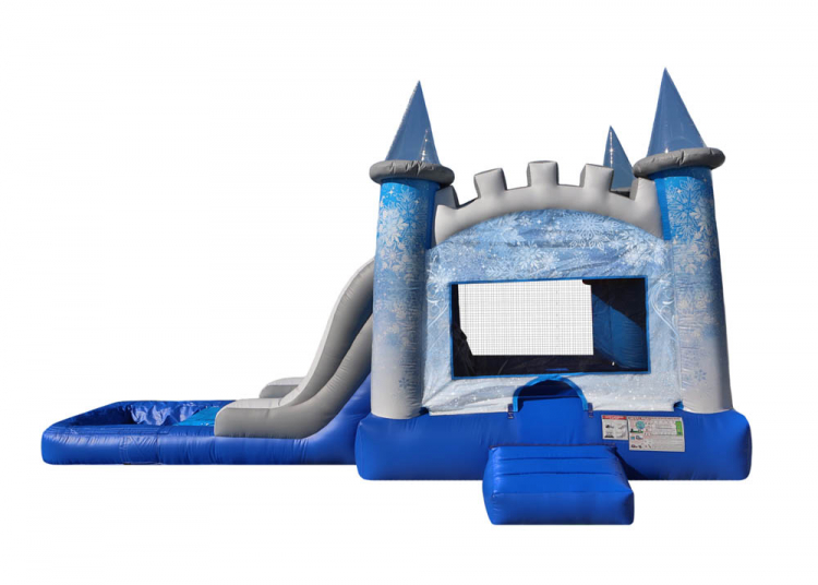 Frozen Ice Castle Wet or Dry – 28'x14'x13′ –  ($295