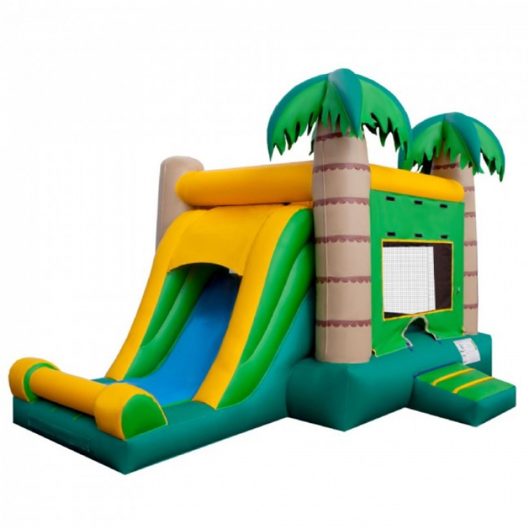 Fort Collins Tropical Combo Bouncy House